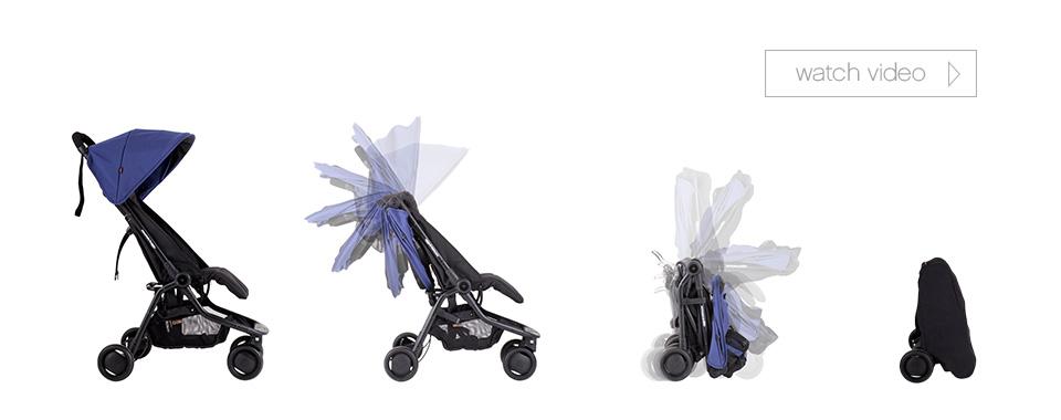 Mountain Buggy Nano folding images
