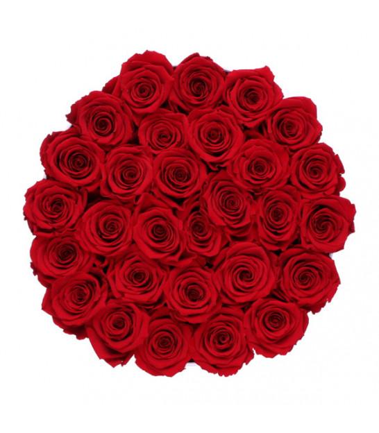 livraison flowerbox rose eternelle sur