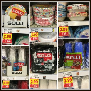 Kroger:  Solo Paper Products As Low As $.99 Each!! (Catalina Deal Ends 5/14)