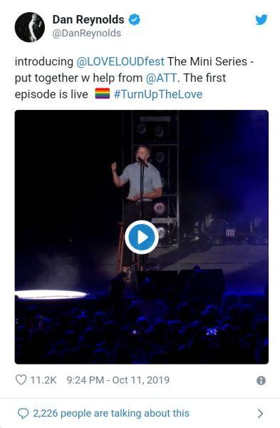 Imagine Dragons' Dan Reynolds Talks About 'being Gay'