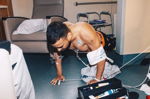 Rapper, French Montana Announces Release Date For His New Album As He Shares New Photo From His Hospital Room