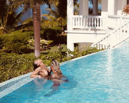 """Life is Good"" Future Says As He Posts New Photo With Lori Harvey In Pool"