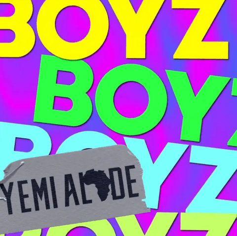 Yemi Alade Boyz mp3