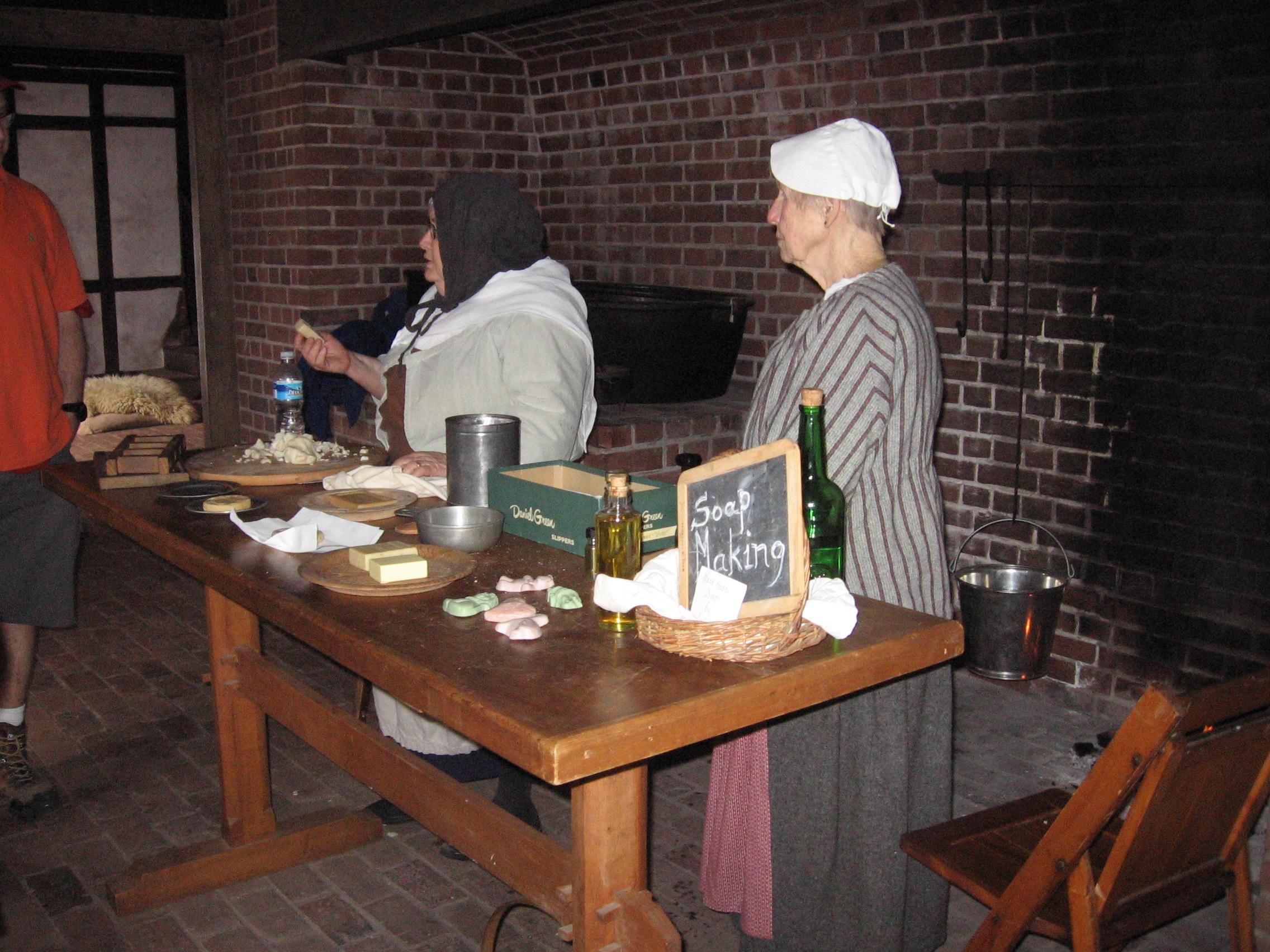 Soap Making demonstration