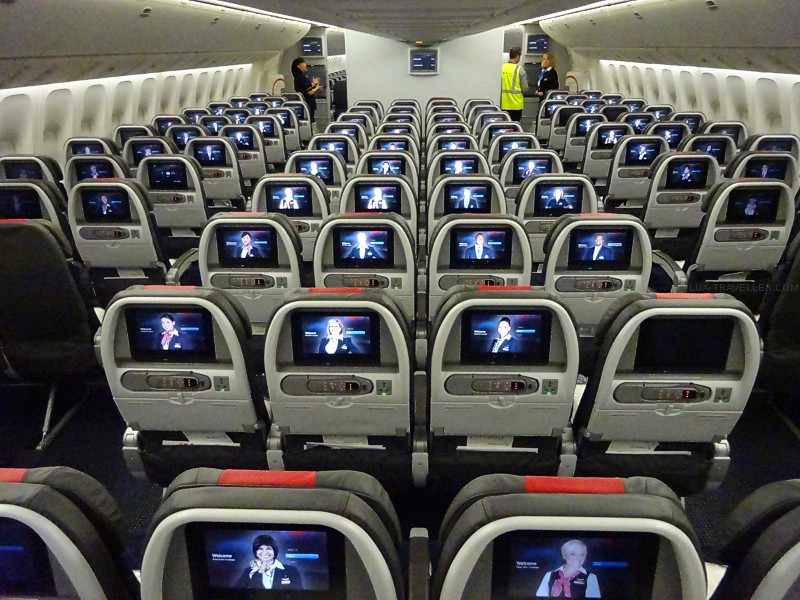 Image result for economy class american 777