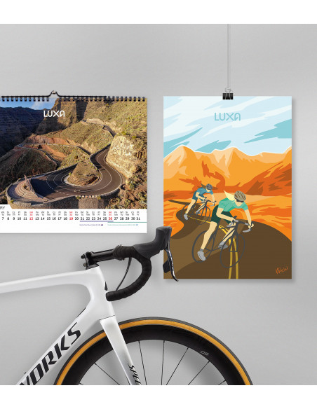 freedom cycling poster