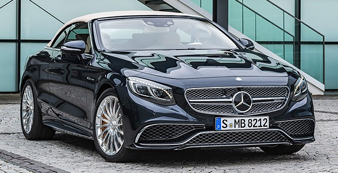 Mercedes S 65 Cabriolet 2016