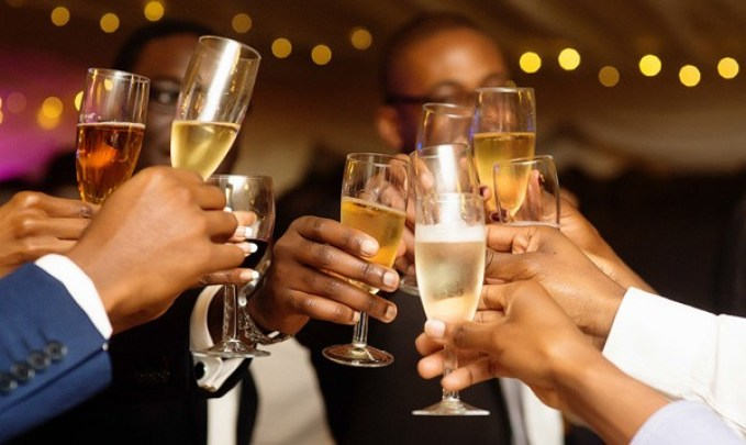 Nigerian's Champagne Consumption