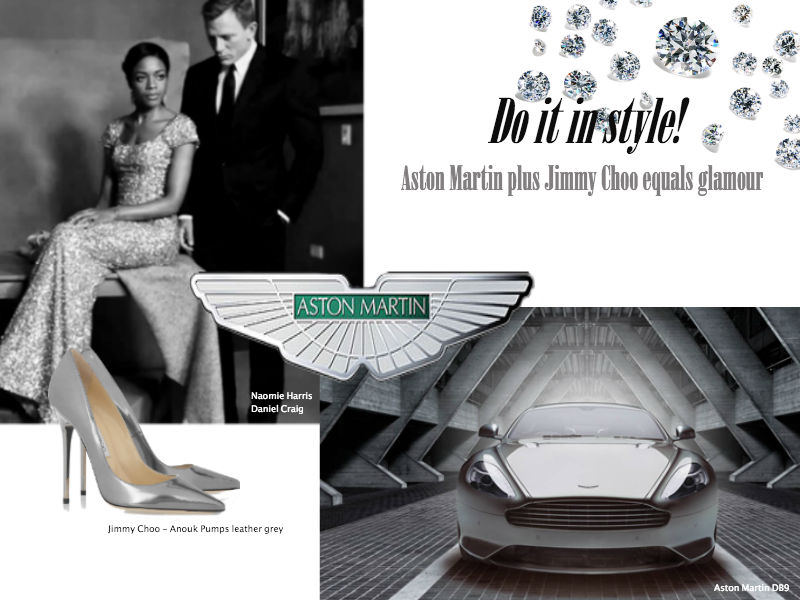 Jimmy Choo and Aston Martin collage_Lux Afrique