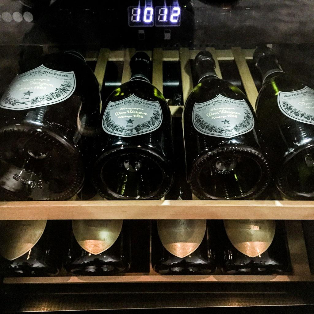 Dom Perignon Wine Cellar at Hotel de Paris