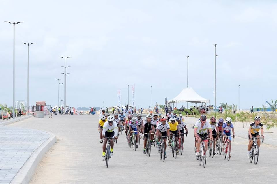 Photo Credit: The First Ever Cycology Criterium bicycle race was held on Eko Atlantic, May 30th, 2016