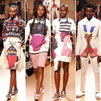 Angola Fashion School designs