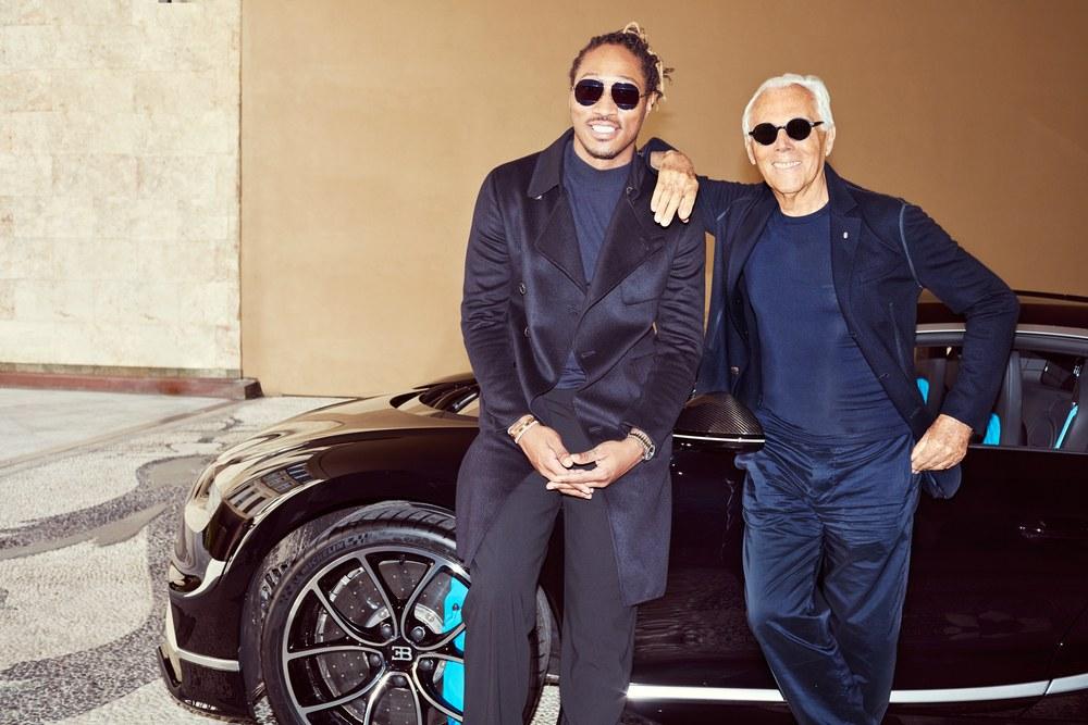 Luxafrique Future Giorgio Armani Bugatti