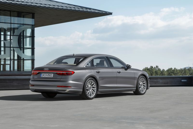 Audi A8 a brand new super luxury Sedan from Germany is here