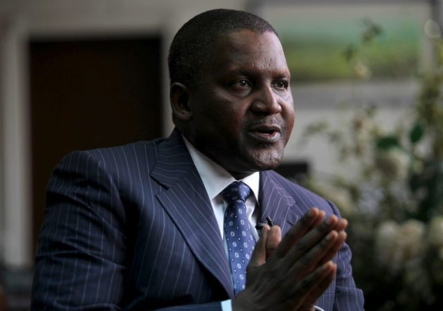 Aliko Dangote top 10 billionaires in Africa