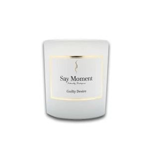 Guilty Desire, Bougies, Parfum de vanille, Fabriqué à la main - Say Moment 220g