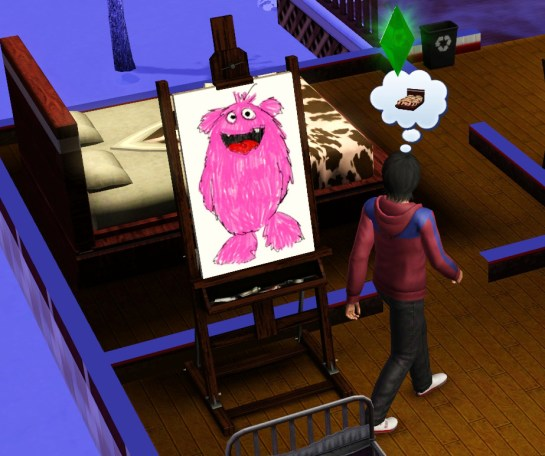 This ugly pink monster will eventually sell for 2k§.