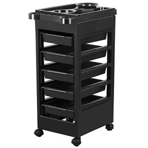 Yaheetech Salon SPA Beauty Hairdressing Rolling Trolley Cart