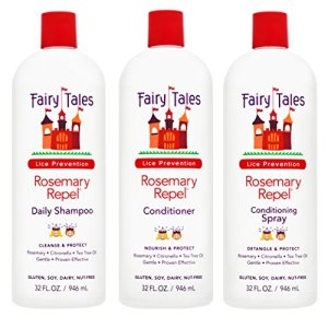 Fairy Tales Rosemary Repel Daily Kid Shampoo, Cream Conditioner