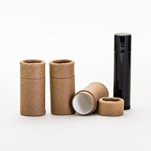 1/4 OZ Kraft Paperboard Lip Balm/Salve/Cosmetic