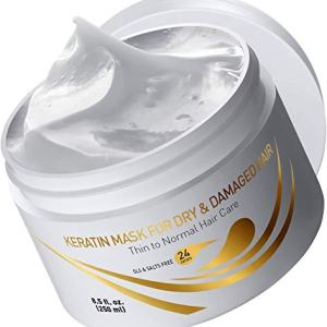 Vitamins Keratin Hair Mask Deep Conditioner - Thin Fine Hair Keratin