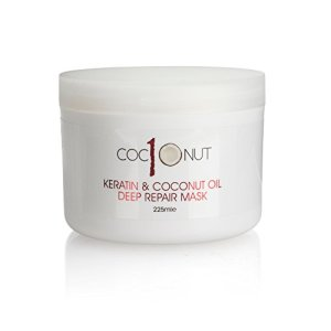Keratin and Coconut Oil Deep Repair Hair Mask: Intensive Conditioning Treatment