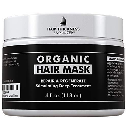 Organic Biotin Hair Mask For Hair Growth by Hair Thickness Maximizer