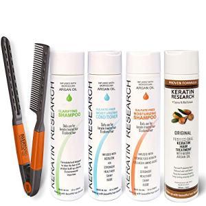 Complex Brazilian Keratin Blowout Hair Treatment 4 Bottles