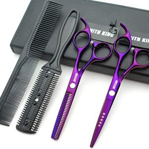 5.5 Inches Hair Scissors with Thinning Comb Hair Cutting Shears