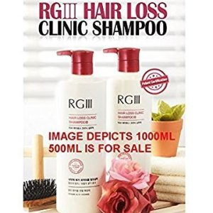 RGIII Red Ginseng Hair Loss Clinic Shampoo 2pcs Set For Mitigating Hair Loss
