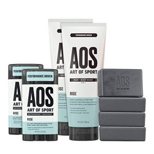 Art of Sport Athlete Collection, Rise Scent, 8pc Skin and Body Care Set