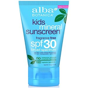 ALBA BOTANICA, Mineral Sunscreen Kids