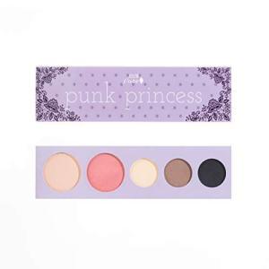 100% PURE Punk Princess Palette (Fruit Pigmented), Bold, Edgy Makeup Palette