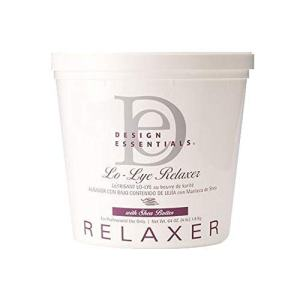 Lo Lye Relaxer with Shea Butter 4 lbs | Hair Straightening Therapy
