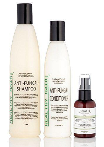 Healthy Hair Plus - Anti Fungal Scalp Treatment Kit Targets Scalp Fungus