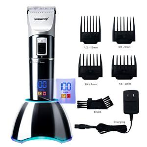 DEERCON Cordless Hair Clippers for Men Beard Trimmer Professional Barber