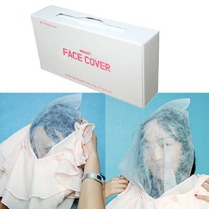 Disposable Makeup Protector Clothing Garment Stain Guard Hood