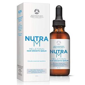 New - NutraM Melatonin Clinical Hair Growth Serum