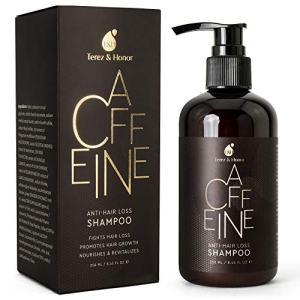 Caffeine Anti-Hair Loss and Hair Growth Shampoo, Volumizing Thinning Hair