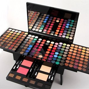 Pure Vie Professional 180 Ultimate Colors Shiny and Matte Eyeshadow Palette