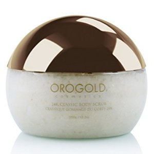 White Gold 24K Classic Body Scrub Exfoliator from OROGOLD Cosmetics