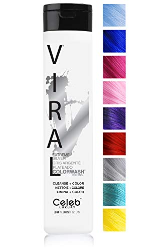 Celeb Luxury Viral Colorwash: Silver Color Depositing Shampoo Concentrate