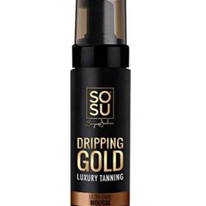SOSU Dripping Gold Luxury Tanning Mousse 5 Oz!