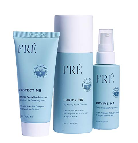 Skincare Set - Formulated for Skin that Sweats - Includes Purify Me