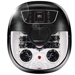 ACEVIVI Foot Spa Bath Massager with Heat and Massage and Bubble Jets