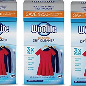 Woolite At Home Dry Cleaner , 42 Cloths, Fresh Scent
