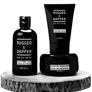 RUGGED & DAPPER All-In-One Essential Skincare Set for Men
