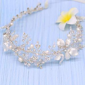 Braveamor Luxury Bridal Headpieces Handmade Wedding Headbands For Bride