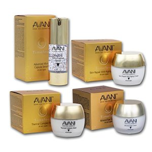 AVANI Timeless Skincare Set | Skin Repair Anti-Aging Cream 1.75 fl. oz.