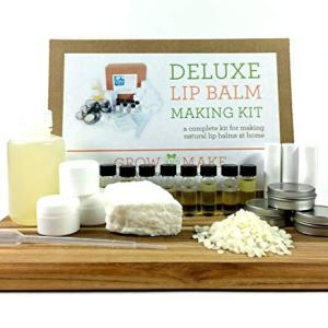 Grow and Make DIY Deluxe Lip Balm Kit - Make 36 of Your Own Lip Balms